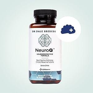 lifeseasons neuroq brain health supplement nootropics neurological development memory stem cell