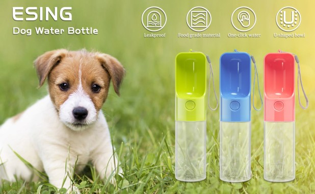 Portable Water Bottle for Dog
