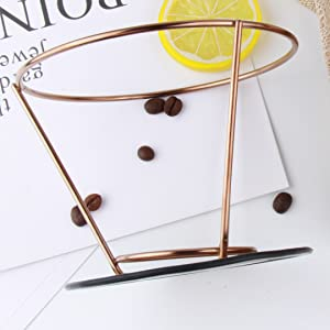 coffee dripper with stand holder