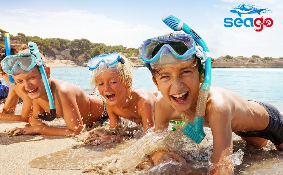 Seago swim mask for kids