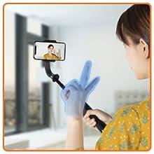 Gesture Control Camera Shooting