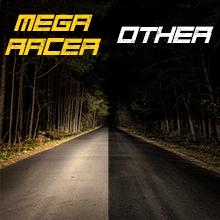 Mega Racer LED vs Other Halogen LED