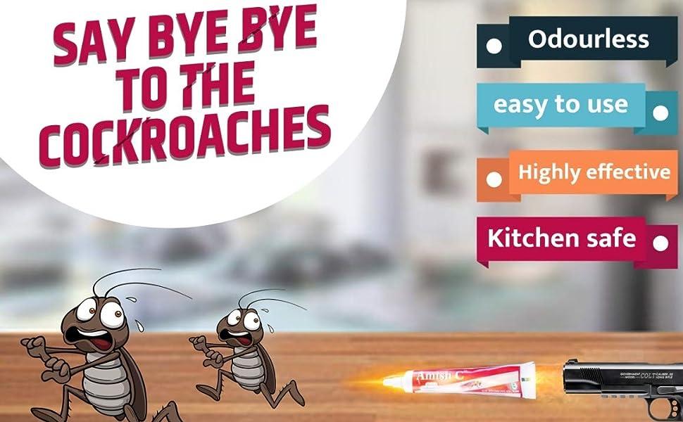 Cockroach herbal gel