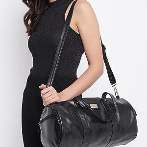 Dufflebags duffle bags women Travel weekend gym girls women college stylish ladies branded
