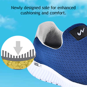 Newly Designed Sole For Enhanced Cushioning And Comfort