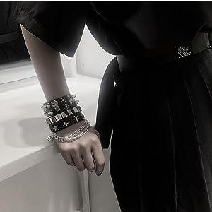 spike bracelets