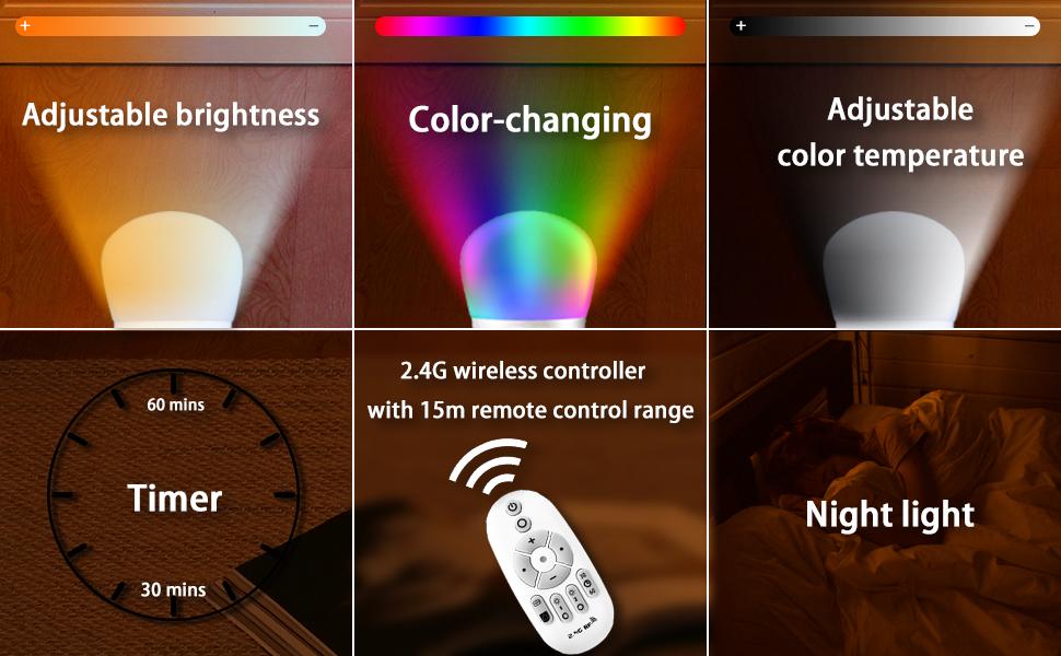 renk değiştiren zemin lambası