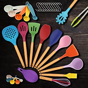 AYBLOOM Silicone Kitchen Tools