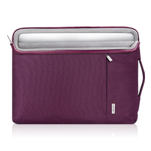 Laptop pocket with easily glide top-quality zipper