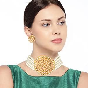 white choker necklace
