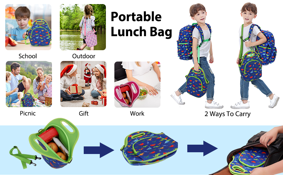 portable lunch pouch