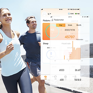 Fitness Tracker & Connected GPS