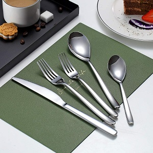 20-Piece Silver Flatware Set