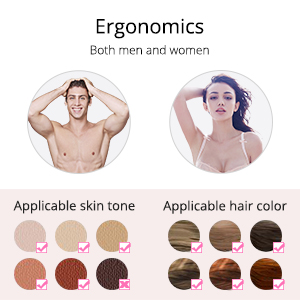 Suitable Skin Tones and Hair Colors