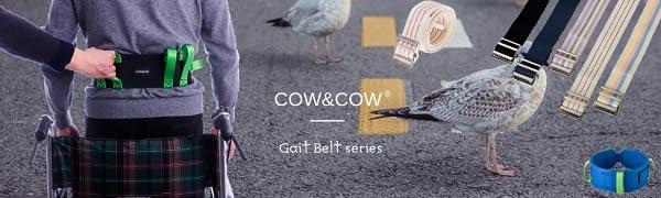 COW&COW gait belt