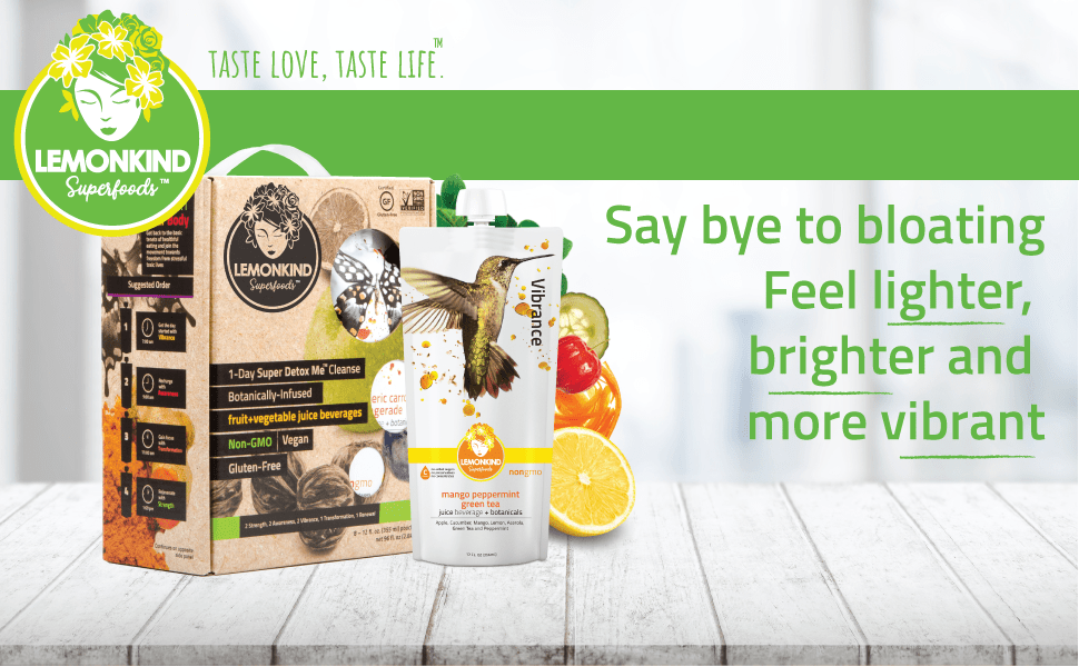 Say goodbye to bloating and enjoy the benefits of brighter skin lighter feeling and more energy