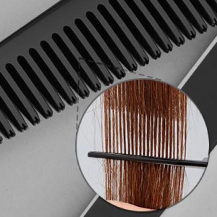 Haar-Effilierschere mit Zähnen