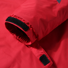 windproof mountain jacket with adjustable cuffs