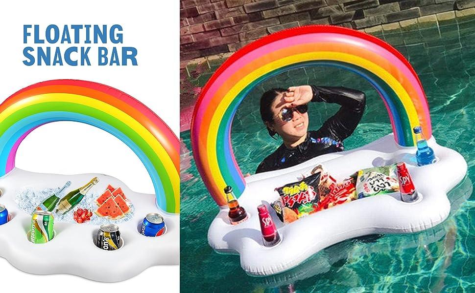floating snack bar