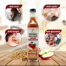 Apple Cider Vinegar with Cinnamon, Fenugreek