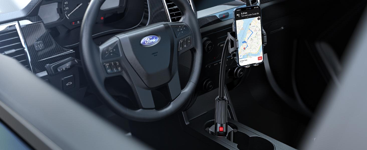 car cup phone holder