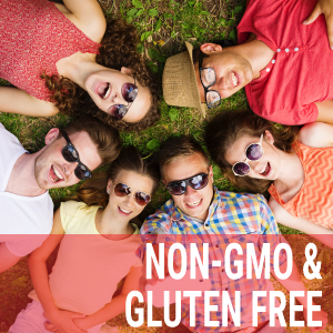 non-gmo and gluten free