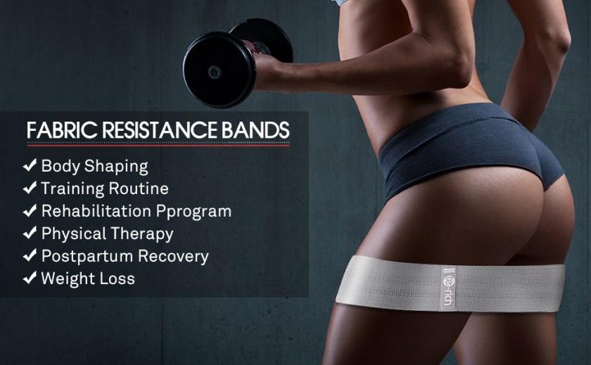 booty bands hip circle resistance loop bands fabric resistance bands glute bands hip loop bands