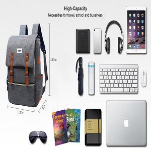 large capacity college bag