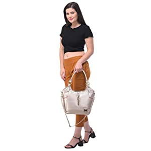 Material : PU Leather Fancy Handbag | Shoulder bag | Handheld Bag for Womens / Girl's and Ladies.