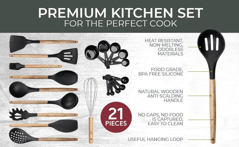 cooking utensils kitchen utensil set cooks gadgets