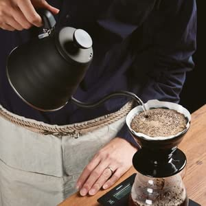 pour over dripper steady water kettle bloom