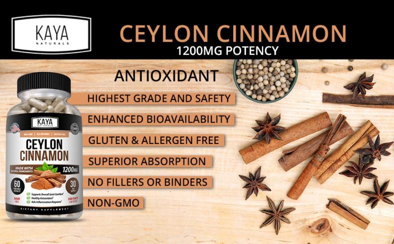Kaya Organic Ceylon Cinnamon
