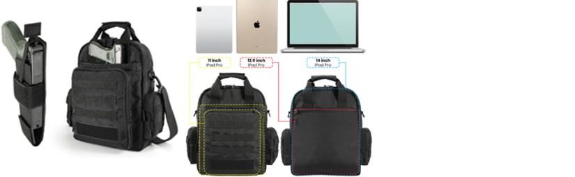 laptop gun bag