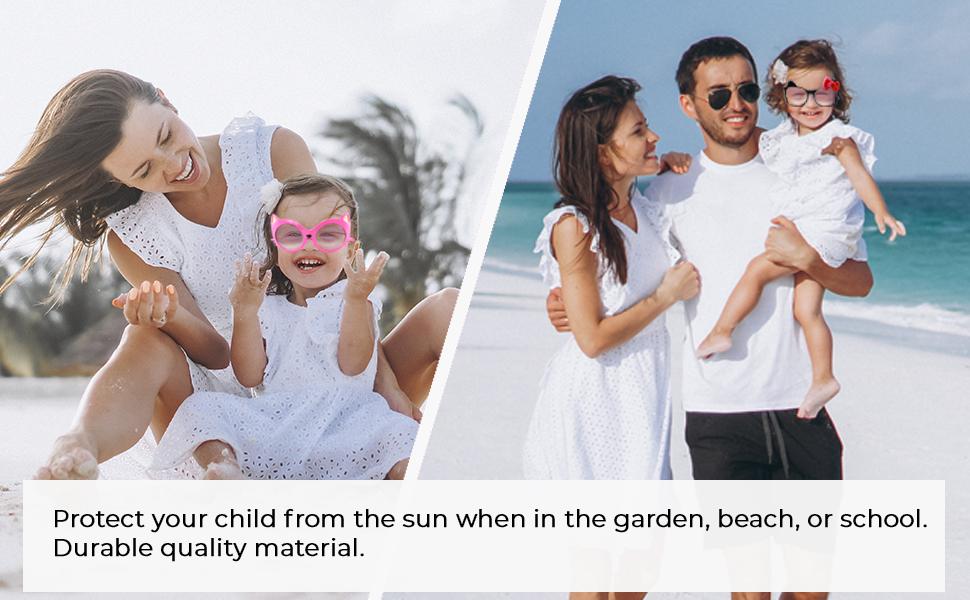cute funny protection uv sunshine summer vacation holiday swimming beach fun children child kids