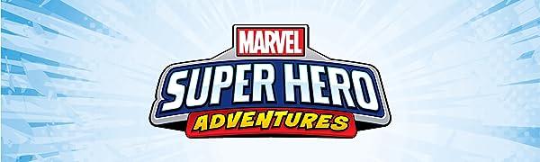 Super Hero Adventures, Marvel