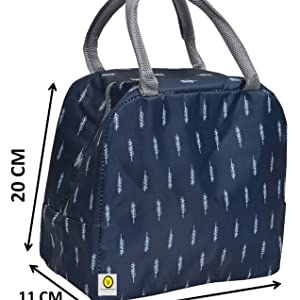 Spacious lunch bag