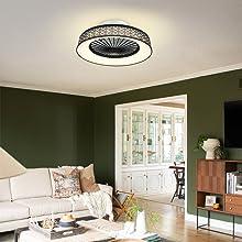 kids room fan with ceiling light