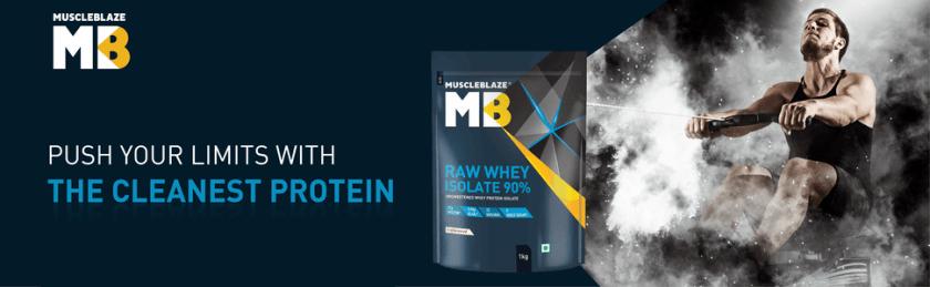 MuscleBlaze MB Raw Whey Isolate 90%, whey protein isolate, whey isolate, isolate protein