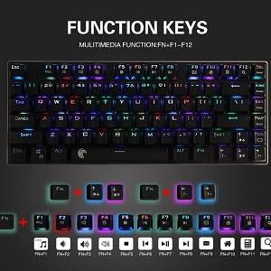 Multi-Media Keys