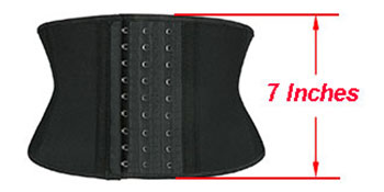 7 Inches Short Torso Waist Trainer