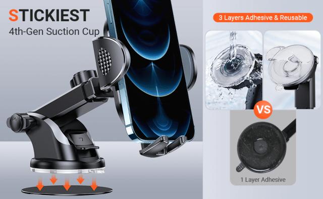 Stickest 4-Gen Suction Cup