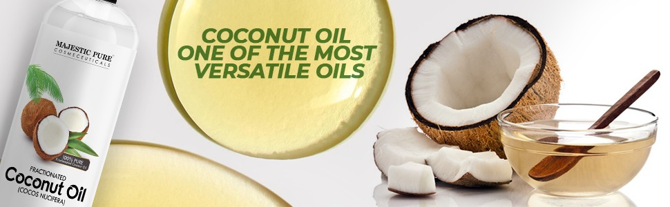 Majestic pure fractionated coconut oil natural authentic no fillers carrier cruelty free