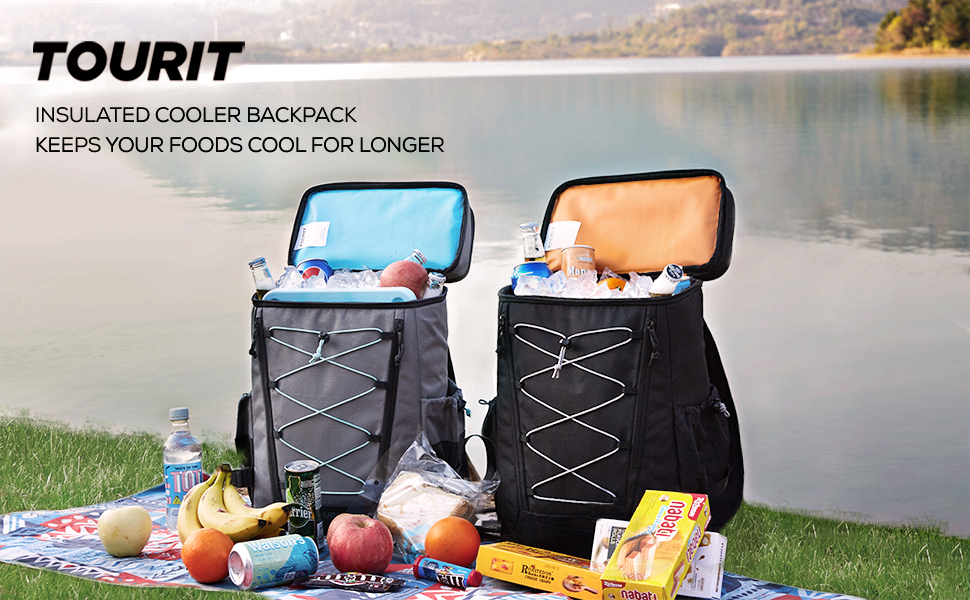 TOURIT Leakproof Cooler Backpack for camping