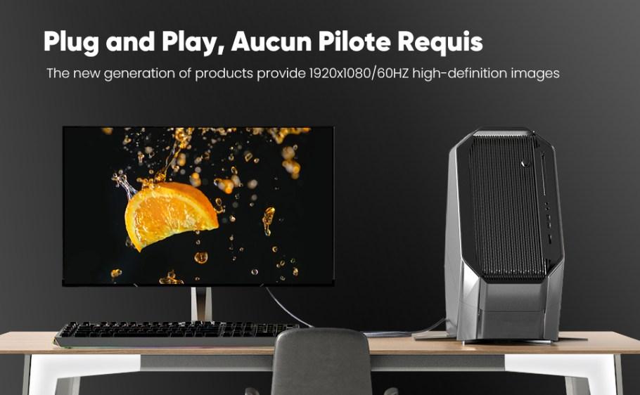 La nouvelle génération de produits fournit des images haute définition 1920x1080/60HZ