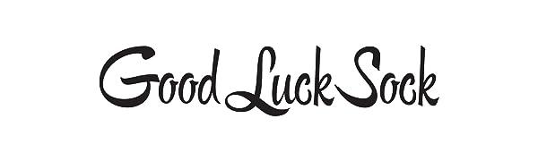 good luck sock logo