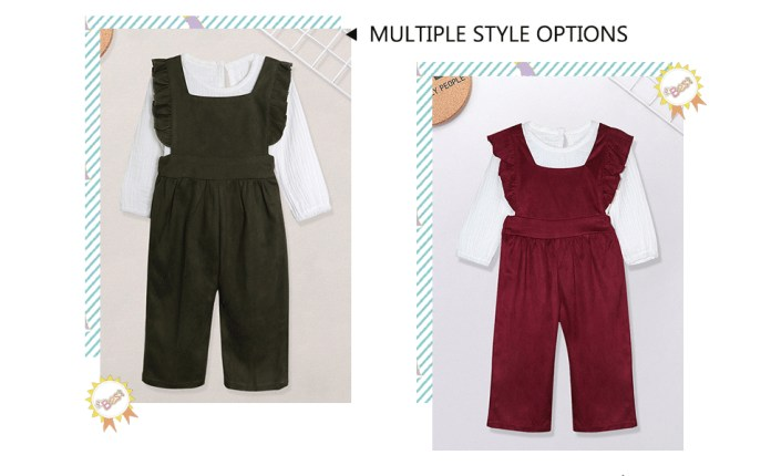 Baby Girls Clothes Long Sleeve Solid Tops and Pants Outfit