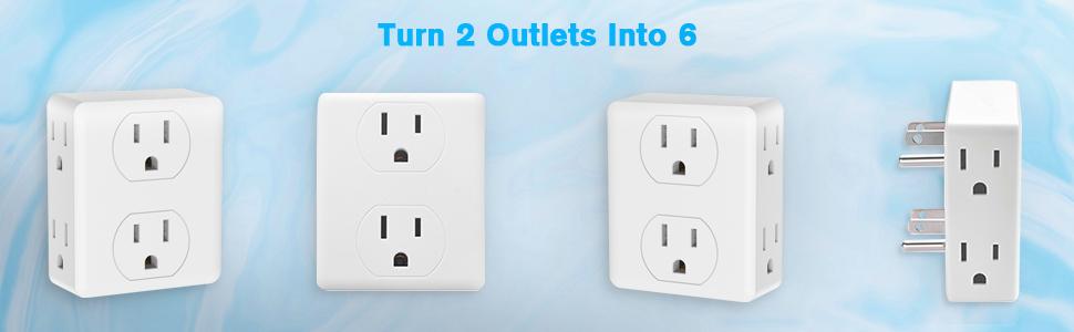 multi plug outlet