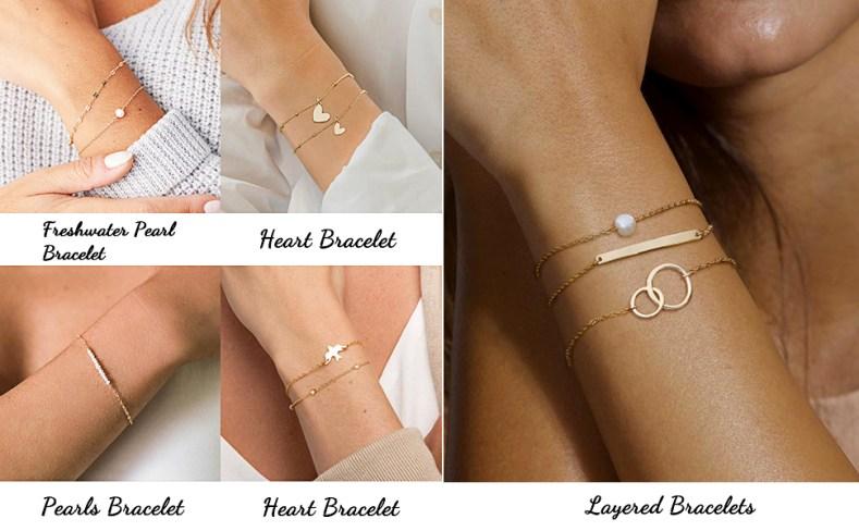 Dainty bracelet for women jewelry