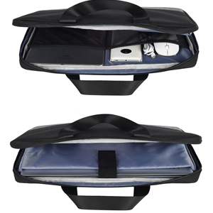 11.6-13 inch Laptop Briefcase with Luggage Belt