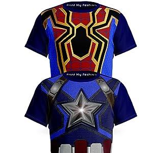 Superhero T-Shirts Combo Packs